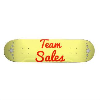 Team Sales Skateboards
