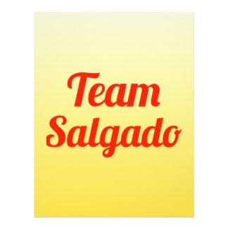 Team Salgado 21.5 Cm X 28 Cm Flyer