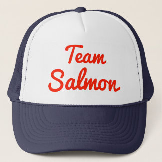 Team Salmon Trucker Hat