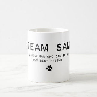 team sam coffee mug