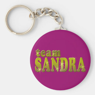 Team Sandra T shirts, Hoodies, Mugs Basic Round Button Key Ring