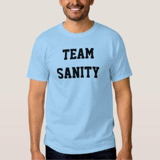 TEAM SANITY TEE SHIRTS