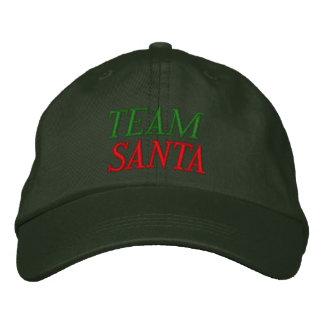 Team Santa Embroidered Hats