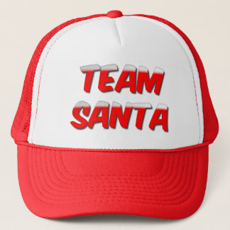 Team Santa Trucker Hat