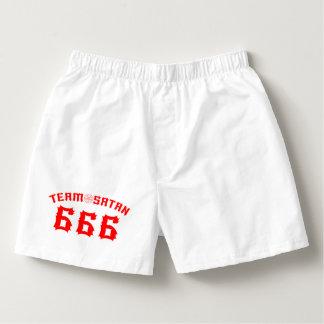 Team Satan 666 Boxers