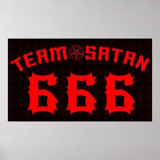 Team Satan 666 Poster