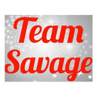 Team Savage Post Card