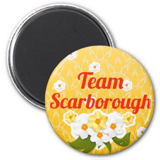 Team Scarborough Refrigerator Magnets