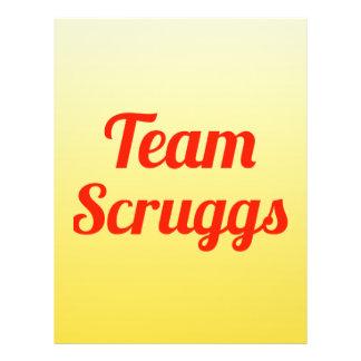 Team Scruggs Flyer Design