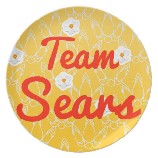 Team Sears Party Plates