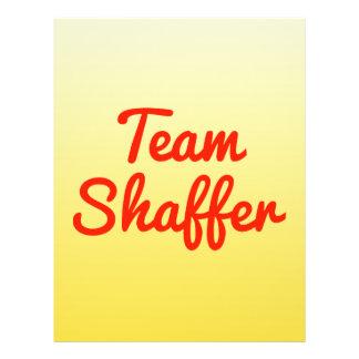 Team Shaffer Flyer