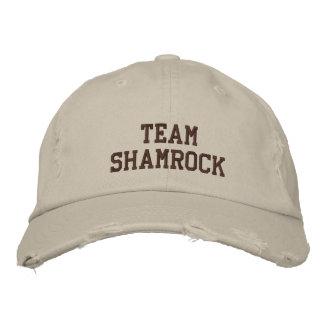 Team Shamrock Cap Embroidered Hat