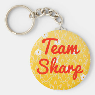 Team Sharp Keychains