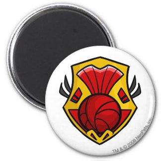 Team Shenkuu Logo 6 Cm Round Magnet