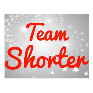 Team Shorter Postcard