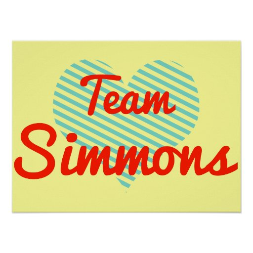 Team Simmons Print