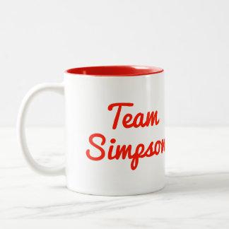 Team Simpson Coffee Mug