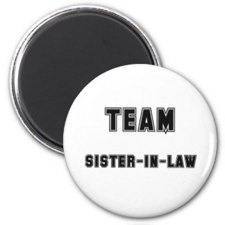 Team Sister-in-Law Magnets