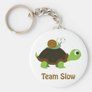 Team Slow Key Ring