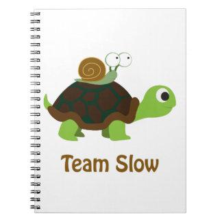 Team Slow Notebook