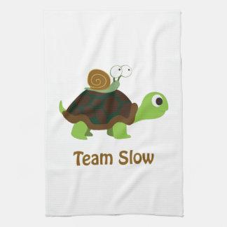 Team Slow Tea Towel
