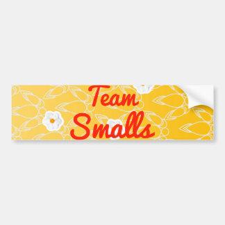 Team Smalls Bumper Stickers