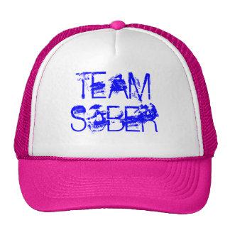 TEAM SOBER HATS