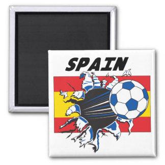 Team Spain Soccer Futbol Refrigerator Magnet