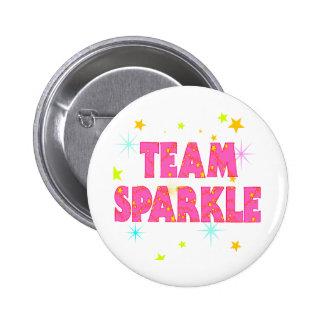 Team Sparkle 6 Cm Round Badge