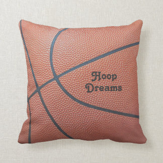 Team Spirit_Basketball texture look_Hoop Dreams Cushion
