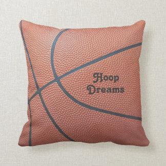 Team Spirit_Basketball texture look_Hoop Dreams Cushions