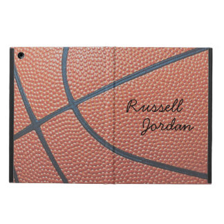 Team Spirit_Basketball texture look_personalized iPad Air Cover