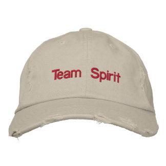 Team Spirit Embroidered Baseball Cap