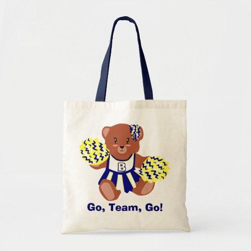 Team Spirit Teddy Tote Bags