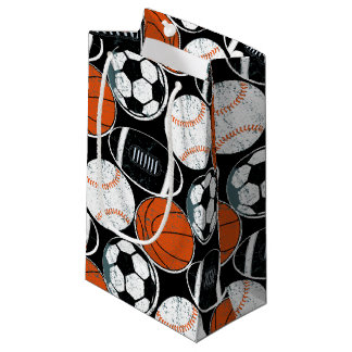 Team sport balls small gift bag