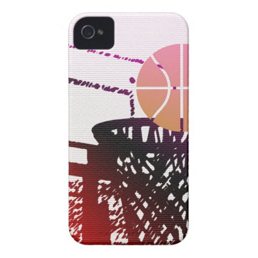 Team Sports Ball Basketball Net Coach Game iPhone 4 Covers