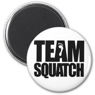 TEAM SQUATCH 6 CM ROUND MAGNET