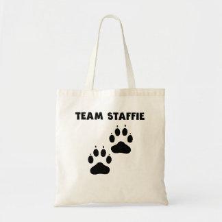 Team Staffie Tote Bag