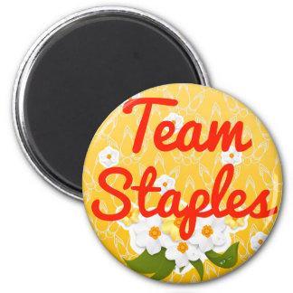 Team Staples Magnets