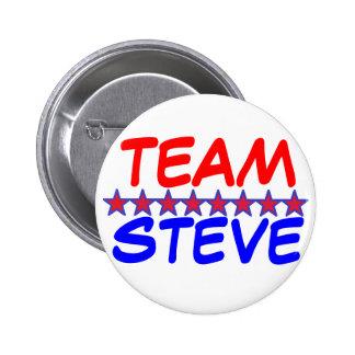 Team Steve 6 Cm Round Badge