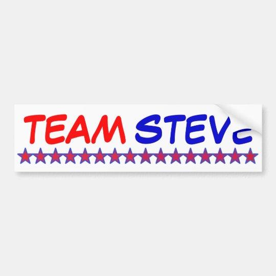 Team Steve Bumper Sticker