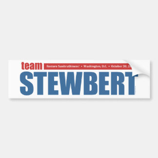 Team Stewbert - Bumper Sticker