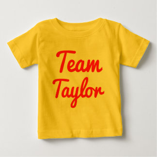 Team Taylor Tee Shirts