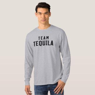 Team Tequila. Funny drinking shirt. T-Shirt