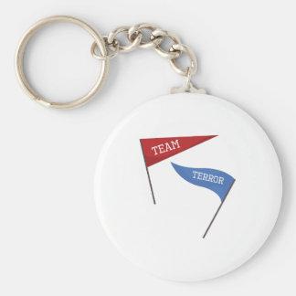 Team Terror Keychain