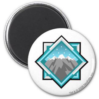 Team Terror Mountain Logo 6 Cm Round Magnet