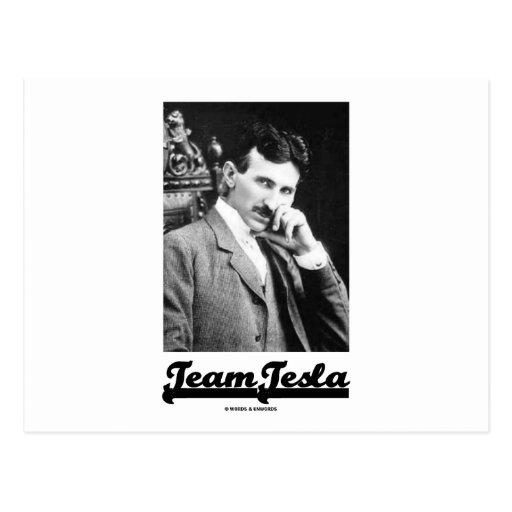 Team Tesla (Nikola Tesla) Post Cards