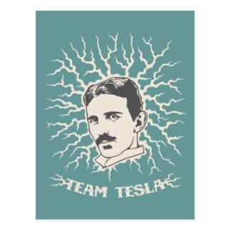 Team Tesla Postcard