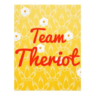 Team Theriot 21.5 Cm X 28 Cm Flyer