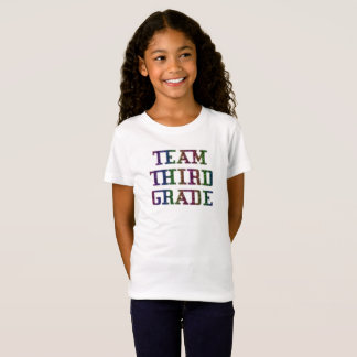 Team Third Grade, Back To School Novelty T-Shirt